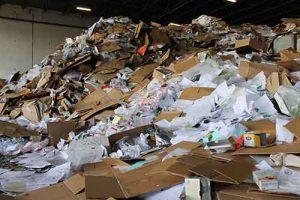 企業將文件直接送到廢紙回收站
